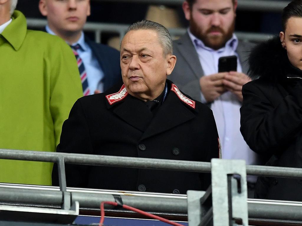 Viele West-Ham-Fans fordern das Aus von David Sullivan