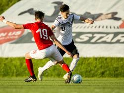 Nicolas Kühn traf für die DFB-Junioren gegen Russland
