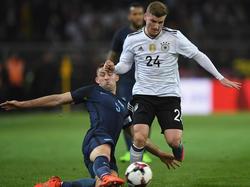 Werner musste sein DFB-Debüt mit einer Muskelverletzung bezahlen