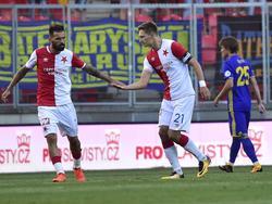 Slavia-Neuzugang Danny kann seine Freude noch nicht so richtig zeigen