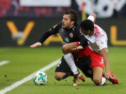 Mainz und Leipzig lieferten sich ein umkämpftes Spiel