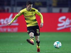 Pulisic spielt seit knapp drei Jahren für Borussia Dortmund