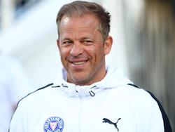 Kiel-Coach Markus Anfang ist guten Mutes