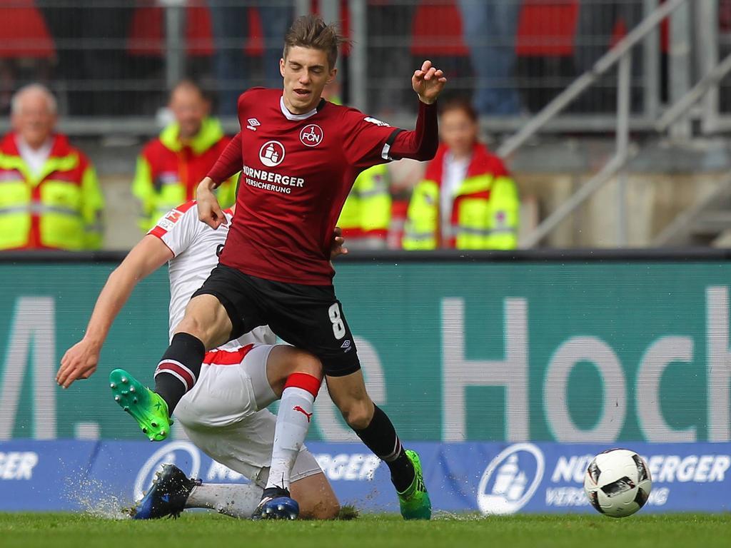 Lucas Hufnagel bleibt weiterhin in Nürnberg