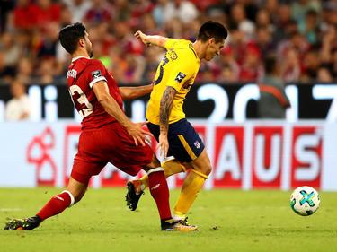 Kranevitter no ha tenido la suerte necesaria en el Atlético. (Foto: Getty)