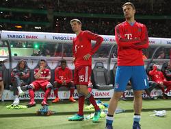 Müller (li.), Neuer und Co. müssen ihren Frust überwinden