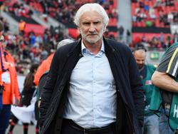 Rudi Völler kann mit der laufenden Spielzeit nicht zufrieden sein
