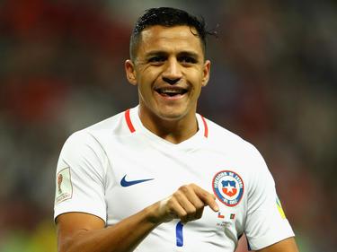 Alexis Sánchez volvió al rescate de su selección con un tanto. (Foto: Getty)