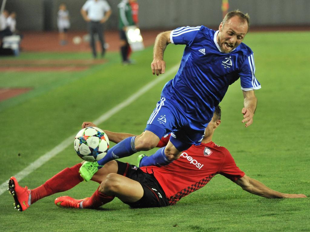 Alexandr Iashvili (oben) spielte früher unter anderem für den SC Freiburg