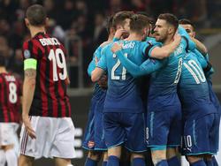 Arsenal feiert wichtigen Sieg in Mailand