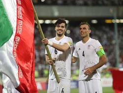 Jalal Hosseini (r.) fährt wohl nicht mir zur WM