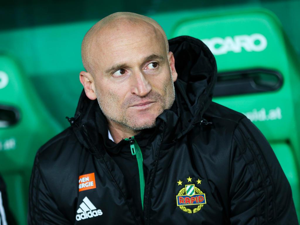 Rapid-Trainer Goran Djuricin blickt auf neun ereignisreiche Monate zurück