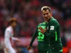 Werder-Spieler Izet Hajrovic steht vor einem Wechsel