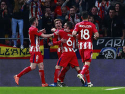 Griezmann marcó el segundo tanto del Atlético. (Foto: Getty)