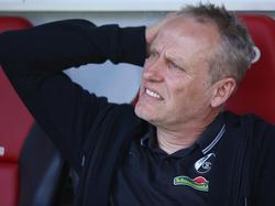 Ist vollends auf das Freiburg-Spiel beim HSV fokussiert: Coach Christian Streich