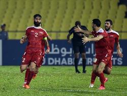 Syrien spielt gegen Australien um die WM-Qualifikation