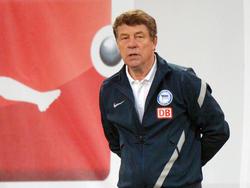 Mit knapp 74 Jahren übernahm Otto Rehhagel Hertha BSC