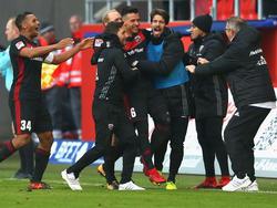 Der FC Ingolstadt hat den Aufstieg noch nicht aus den Augen verloren