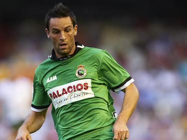 Manuel Arana con la camiseta del Racing de Santander en 2011. (Foto: Getty)
