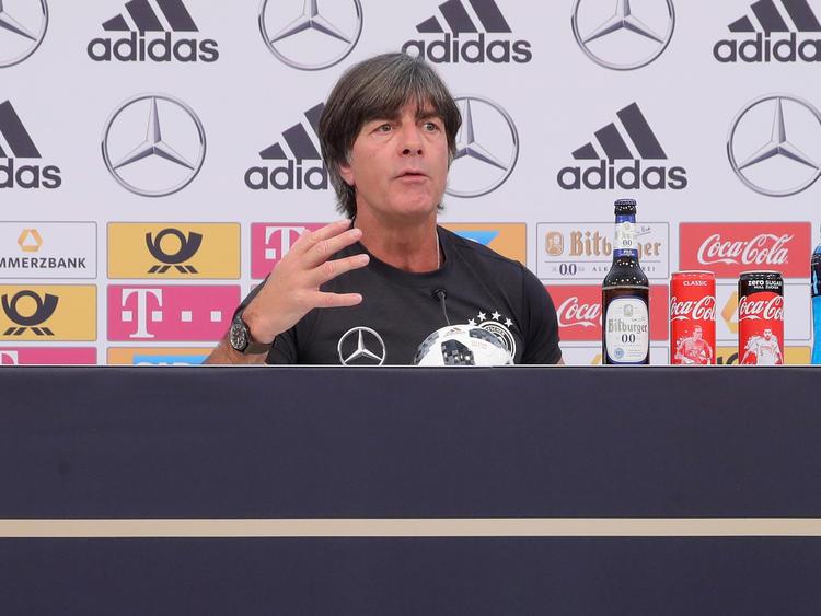 Joachim Löw bereitet sich auf seine dritte WM als Cheftrainer vor