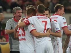 Fortuna Düsseldorf führt die Tabelle der 2. Fußball-Bundesliga an
