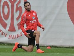 Rodríguez darf zur Zeit nur trainieren