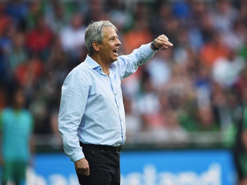 Lucien Favre soll auf dem Zettel des BVB stehen