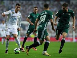 Cristiano no encontró ayer el camino al gol en el Bernabéu. (Foto: Getty)