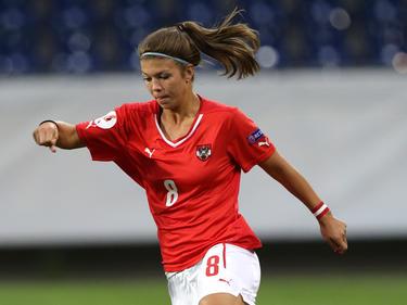 Nadine Prohaska erzielte das entscheidende Tor