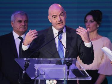 Mag es exotisch: FIFA-Präsident Gianni Infantino