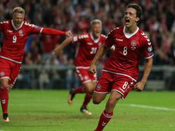 Thomas Delaney wurde für die Qualifikationsspiele gegen Monteneground  Rumänien nominiert