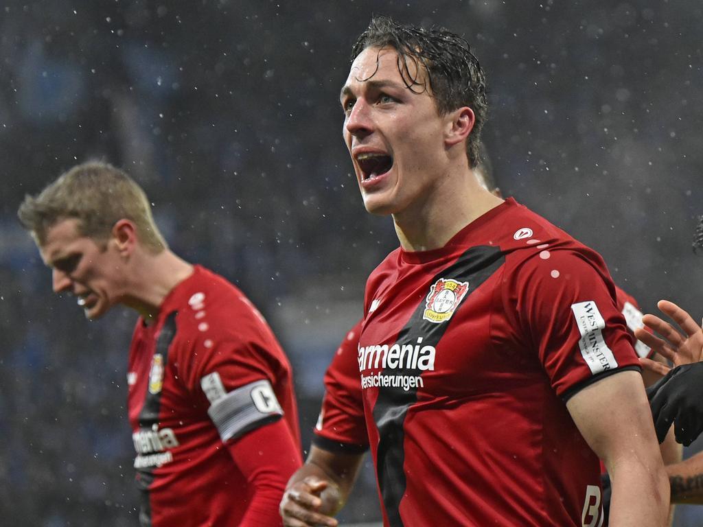 Julian Baumgartlinger genoss den Treffer
