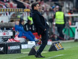 Bruno Labbadias Debüt beim VfL Wolfsburg lief nicht (ganz) optimal