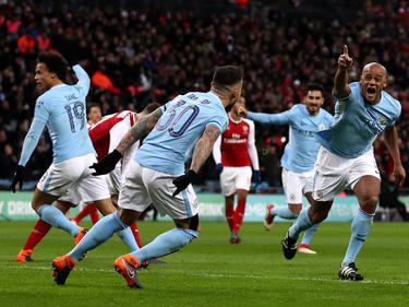 Manchester City gewinnt das Ligapokal-Finale gegen Arsenal