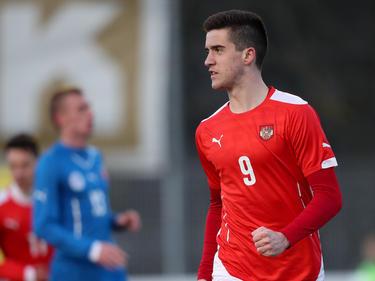 Für das ÖFB-U19-Team traf Jakupović 13 Mal in 16 PArtien