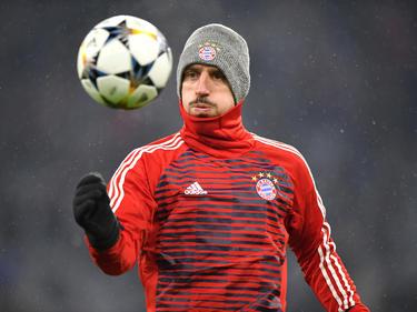 Franck Ribéry stand nicht in der Startformation