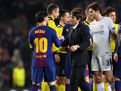 Antonio Conte schwärmte nach dem CL-Aus der Blues von Lionel Messi