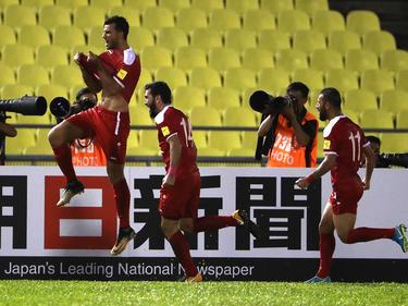 Omar Al Somah erzielte den Ausgleich vom Punkt