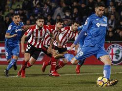 Jorge Molina falló un penalti en el minuto 51. (Foto: Imago)