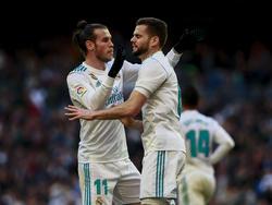 Gareth Bale (l.) und Nacho (r.) erzielten je zwei Tore