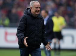 Freiburgs Trainer Christian Streich könnte Neuzugang Robin Koch schon gegen RB Leipzig einsetzen