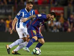 Lionel Messi wird mit dem FC Barcelona gegen Lokalrival Espanyol antreten