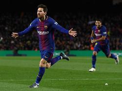 Messi dio la vuelta al marcador en el minuto 84 de tiro libre. (Foto: Getty)