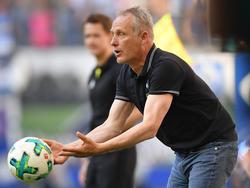 Der Freiburger Trainer Christian Streich war erneut aufgebracht