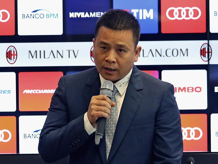 Li Yonghong muss Milan möglicherweise wieder hergeben