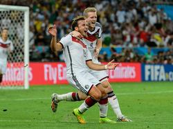 André Schürrle und Mario Götze schossen Deutschland 2014 zum WM-Titel