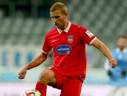Timo Beermann zog sich einen Innenbandanriss im linken Knie zu