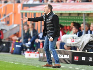 Möchte möglichst schnell 40 Punkte: Augsburgs Trainer Manuel Baum