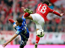 In einem heißen Kampf zwischen Schalke und Bayern gab es keinen Sieger