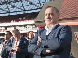 Dick Advocaat is terug bij het Nederlands elftal! De bondscoach viert zijn rentree bij Nederland-Luxemburg. (09-06-2017)